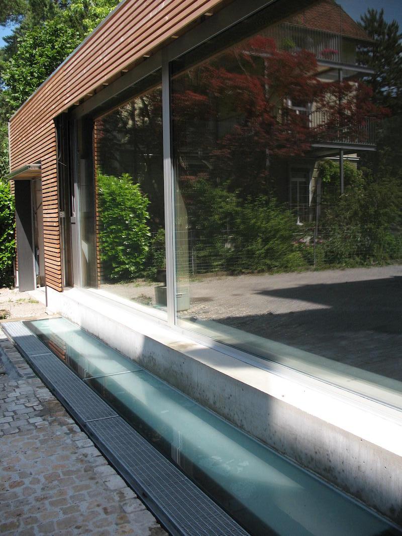 Verglasung, Atelier Nelkenstr., Winterthur