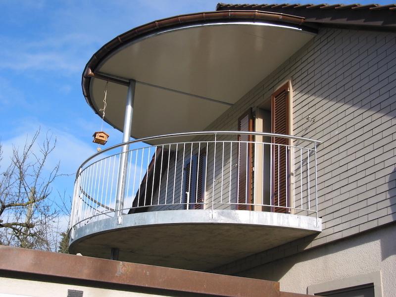 Bakon und Dach aus Metall, Kopp, Aadorf_FMT Metall Technik AG