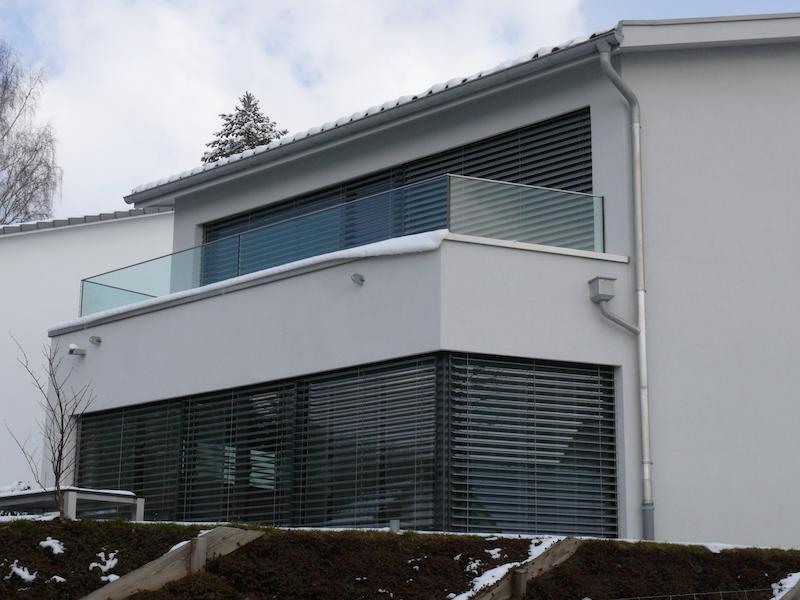 Glasgeländer, Obere Steig,Stettfurt_FMT Metall Technik AG