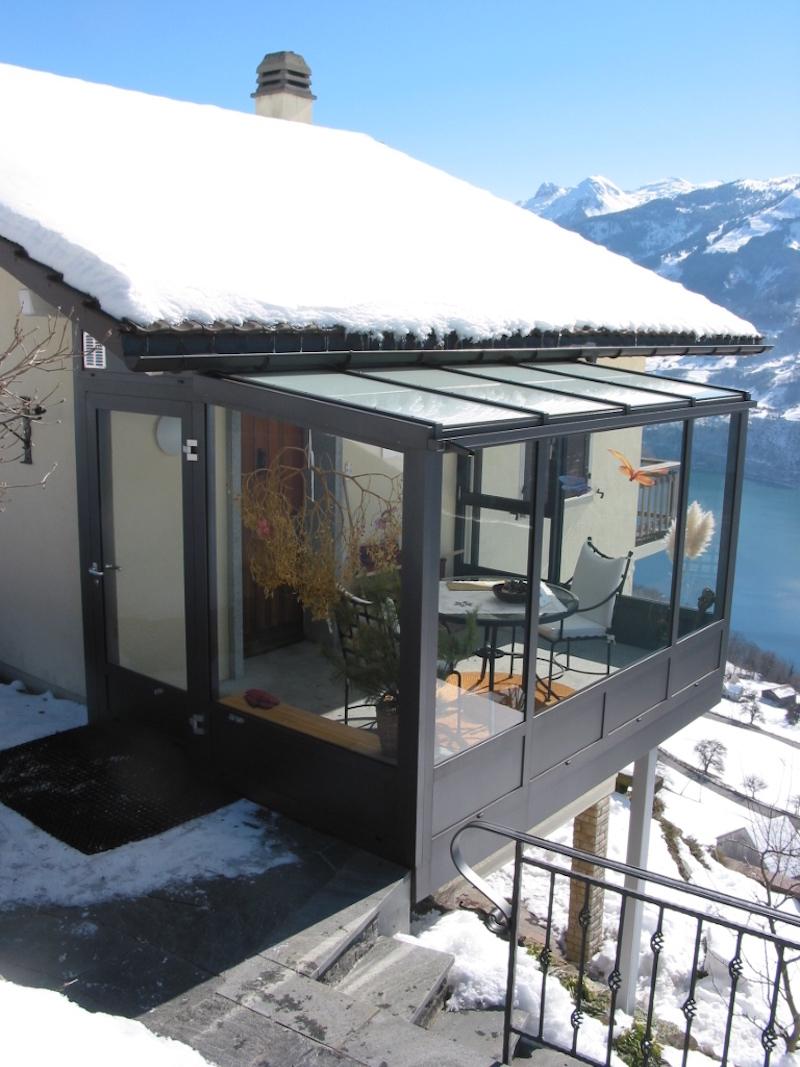 Balkon, EFH Wieland, Amden, WIGA2