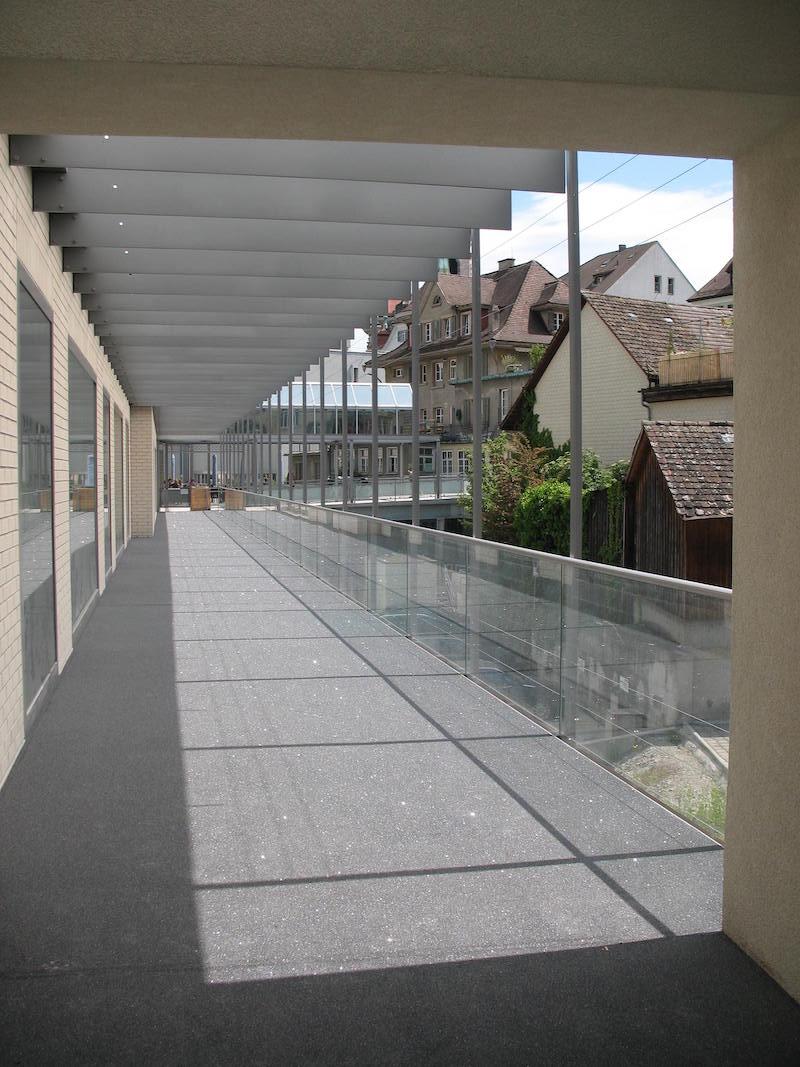 Glasgeländer,Passage_FMT Metall Technik AG