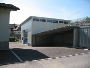 Stahlbau FMT Lagerhalle I