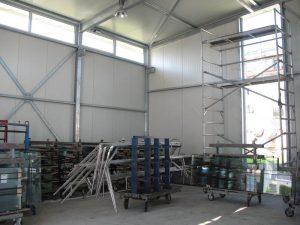 Stahlbau FMT Lagerhalle II