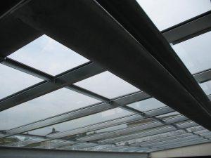 Stahlbau FMT Vordach Anbau I