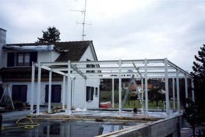 Stahlbau Garage Berli, Pfyn II