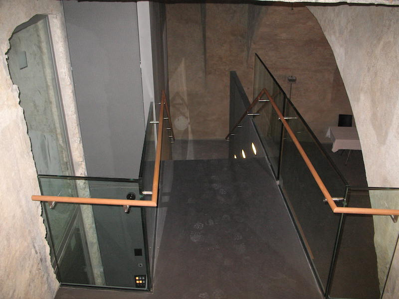 Innen Glasgeländer, Hof zu Wil, Gew.-Keller_FMT Metall Technik AG