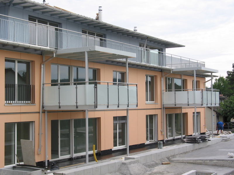 Balkon, Blumenweg, Wallisellen_FMT Metall Technik AG