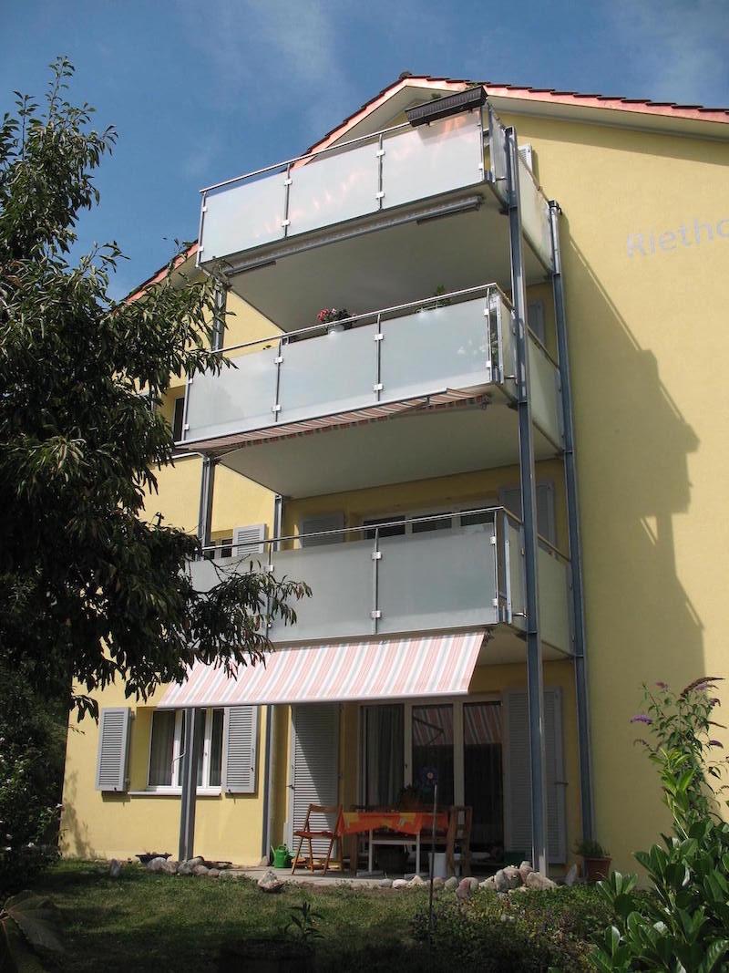 Balkon, Etzelstr.,Schaffhausen_FMT Metall Technik AG