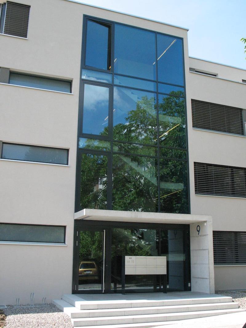 Verglasung MFH Rychenbergstr. Winterthur