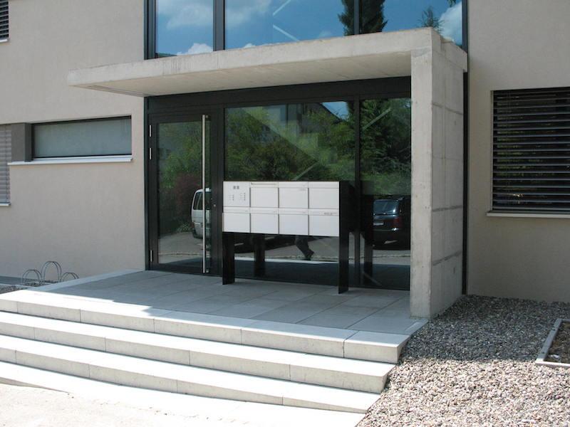 Metalltür Rychenbergstr. Winterthur_FMT Metall Technik AG