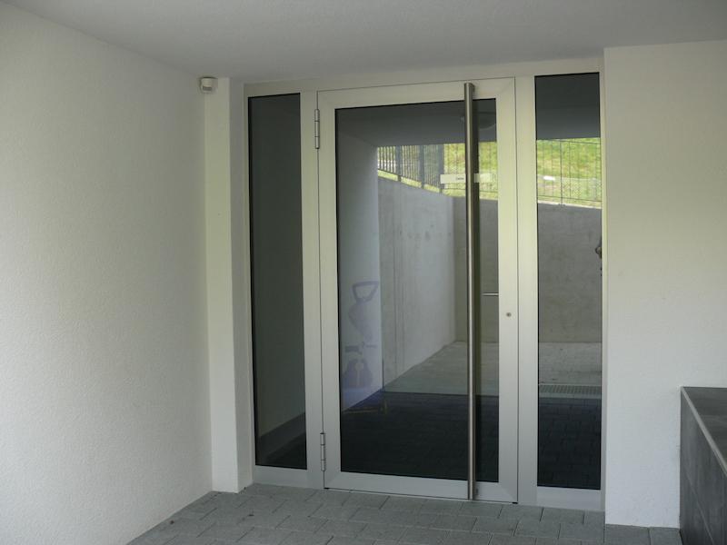 Metalltür Sonnenhalde, Bronschhofen_FMT Metallbau AG