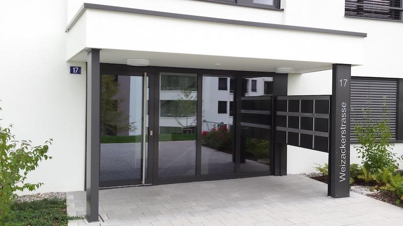 Metalltür Weizackerackerstr., Winterthur_FMT Metall Technik AG
