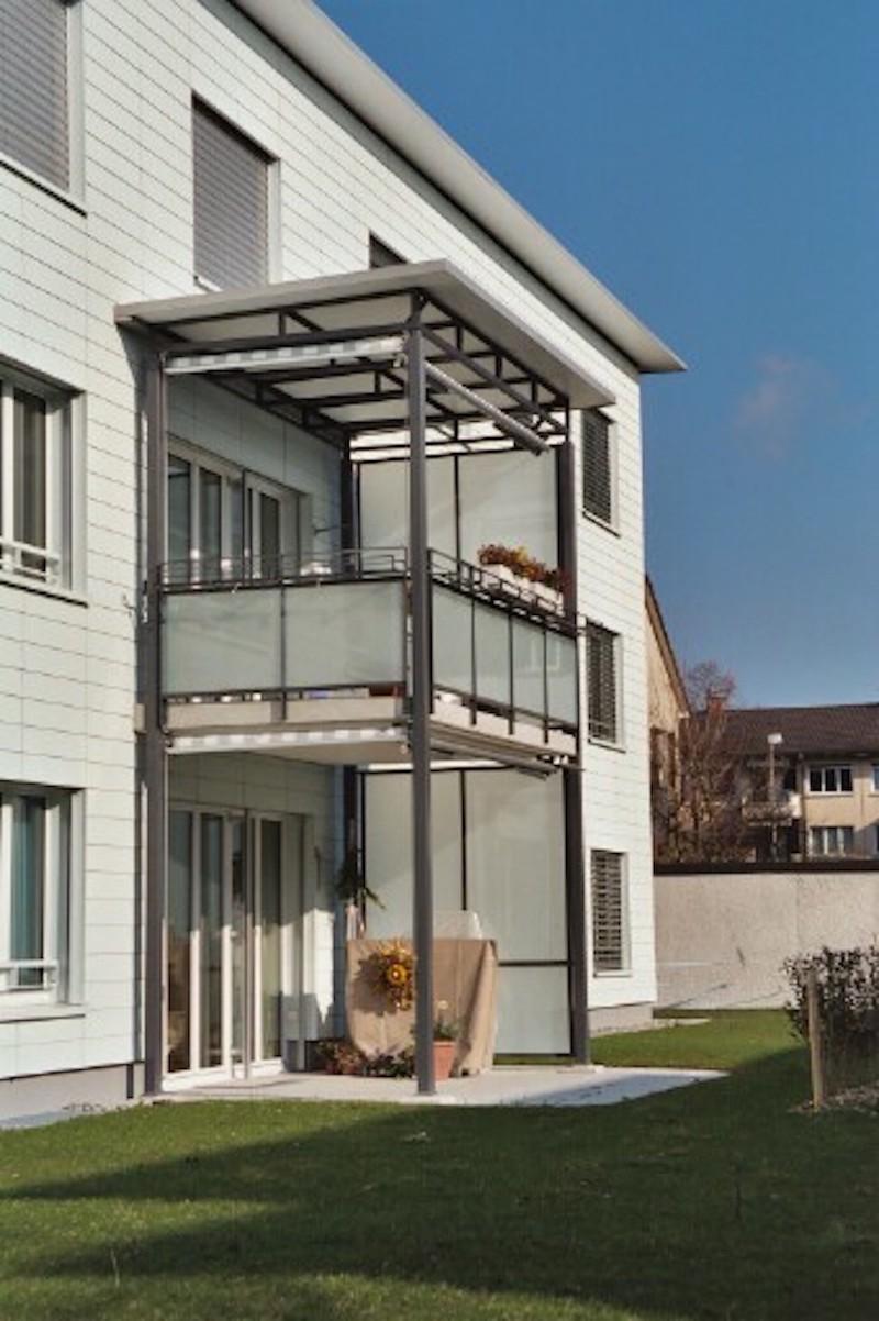 Bakon aus Metall, Zwinglistr.,Winterthur_FMT Metallbau AG
