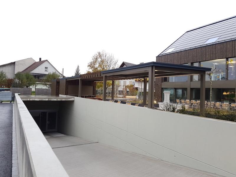 Pergola, Matzingen, GH Aadorferstr. 20_FMT Metallbau AG