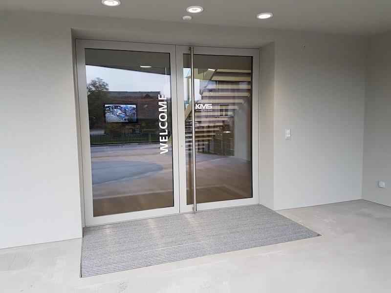 Eingangstür aus Metall, GH Aadorferstr.20_FMT Metall Technik AG