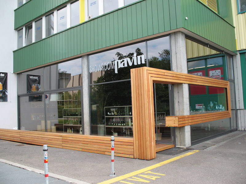 Verglasung, PAVIN Winterthur, Schaufenster
