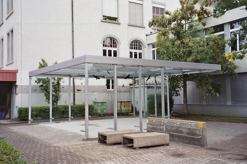 Vordach, Primarschule Islikon_FMT Metallbau AG
