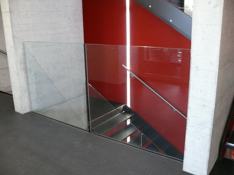 Glasgeländer Schmobi_FMT Metall Technik AG