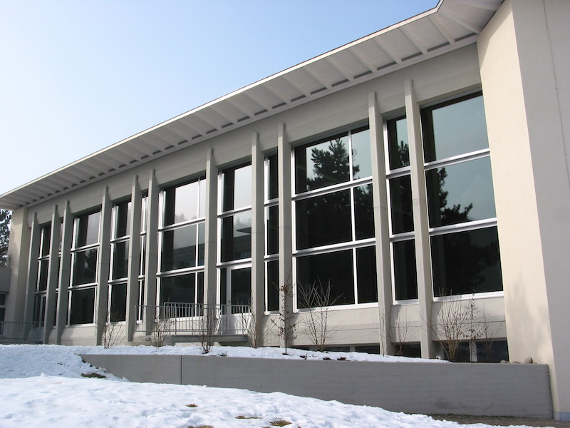 Verglasung, Schulhaus Stumpenboden,Feuerthalen II