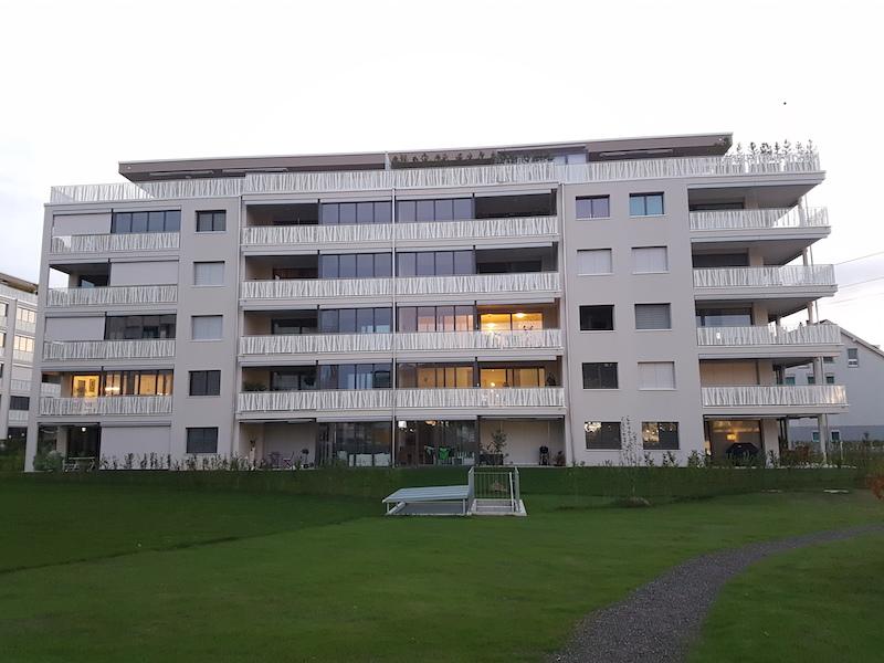 Aussengeländer Steinhausen, Feldpark,_FMT Metall Technik