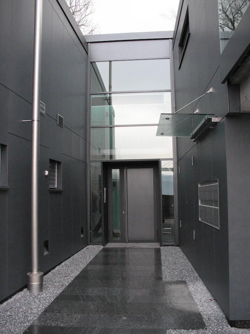 Verglasung TH Herrliberg Eingang