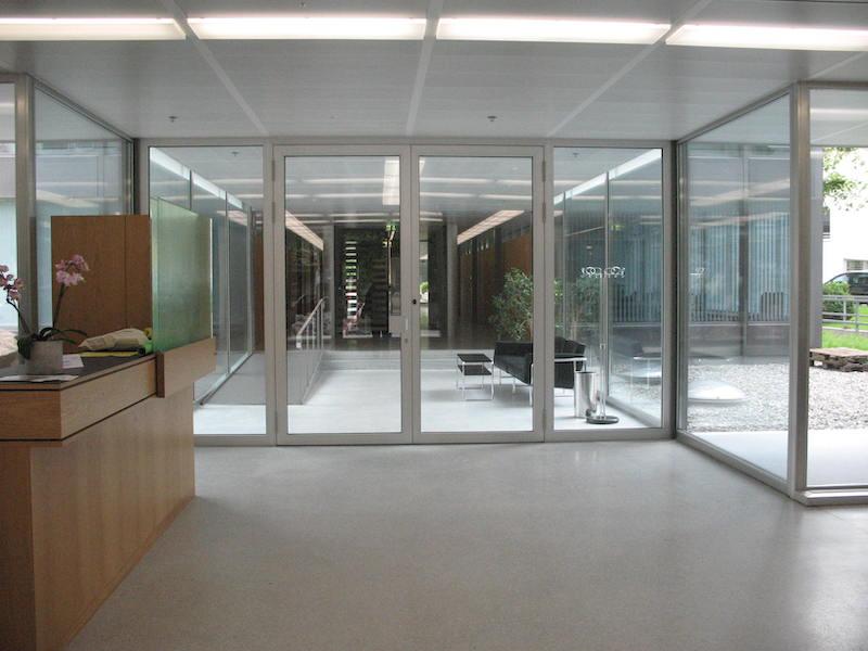 Metalltür, Zwischentür Verwaltungsgebäude Frauenfeld _FMT Metallbau AG