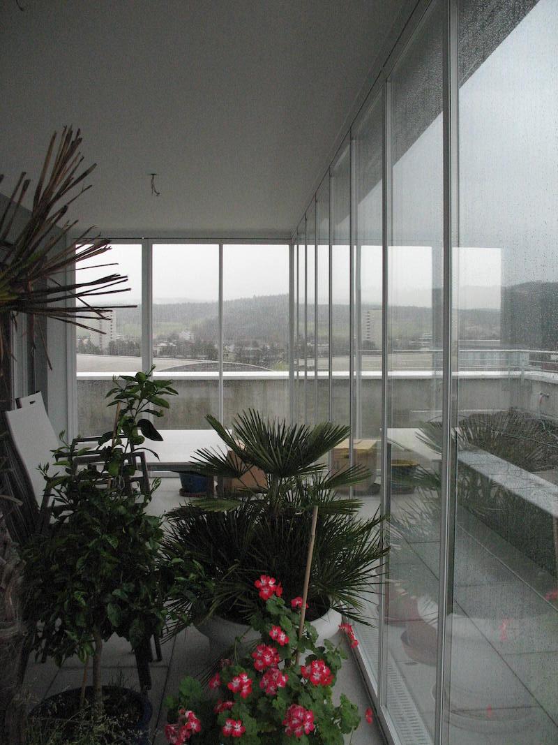 Wintergarten Zentrum Gruze, Faltschiebewand I