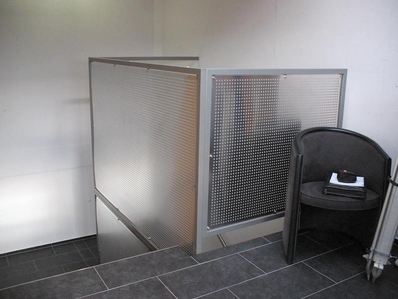 Geländer Zentrum Gruze_FMT Metall Technik AG