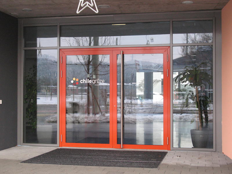 Metalltür, Zentrum Grüze, Winterthur_FMT Metallbau AG
