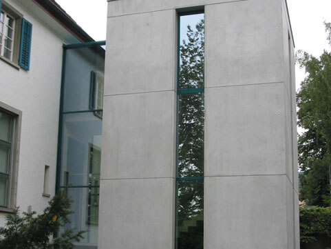 Verglasung, TKB Sirnach_FMT Metall Technik