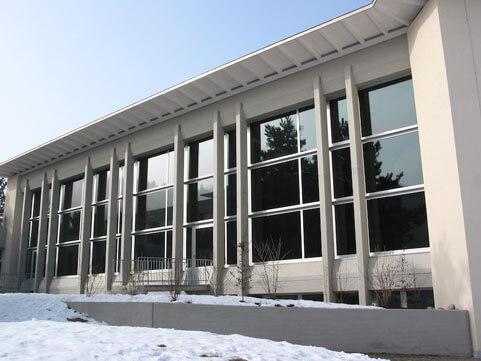 Verglasung, Schulhaus Stumpenboden,Feuerthalen II_ FMT Metall Technik
