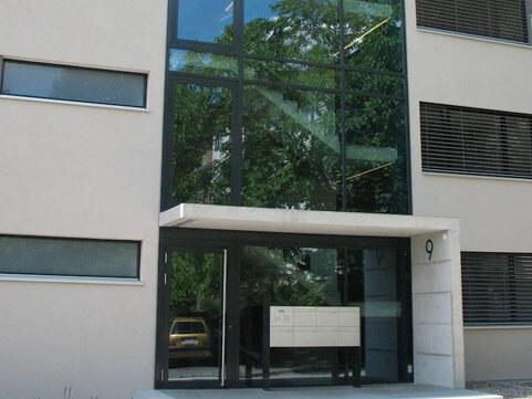 Verglasungen Eingang FMT Metall Technik