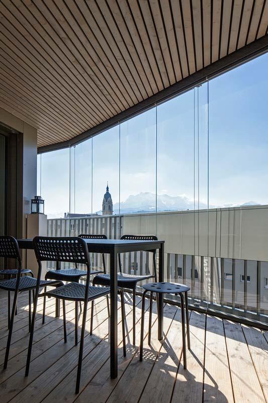 Balkonverglasungen GG 1602