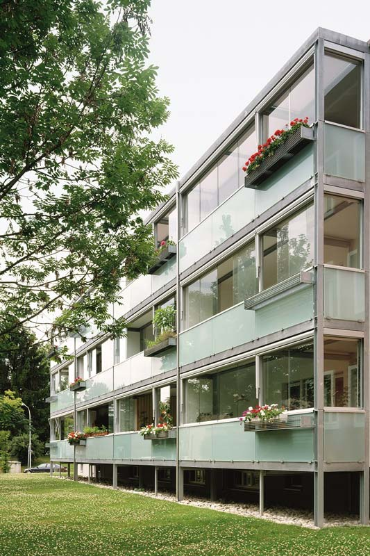 Verglasung Balkone GS 110